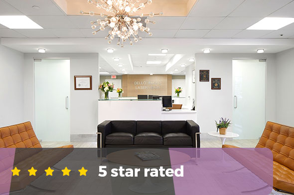 Dello Russo Laser Vision is a 5 star rated lasik facility