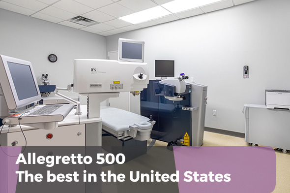 Allegretto 500 - best laser machine in U.S.